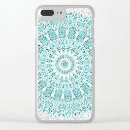 A Glittering Mandala Clear iPhone Case