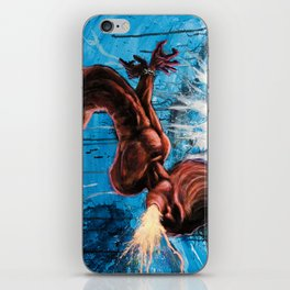 Bounded Thrall - Psychedelic painting iPhone Skin