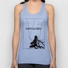 Ghost In The Shell (w/ Frame) Unisex Tank Top