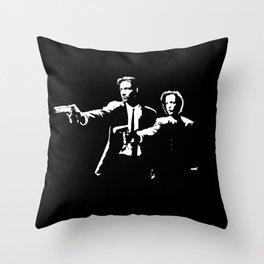 The X-Fiction Throw Pillow