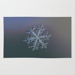 Real snowflake - Hyperion dark Rug