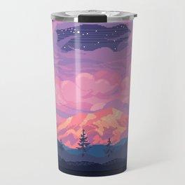 Mount Rainier Travel Mug