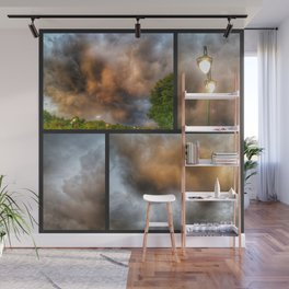 Thunderclouds Wall Mural