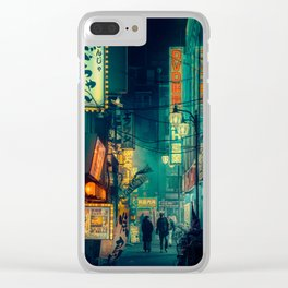 Tokyo Nights / Memories of Green / Blade Runner Vibes / Liam Wong Clear iPhone Case