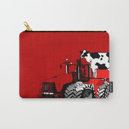 stolen tractor and cow Carry-All Pouch