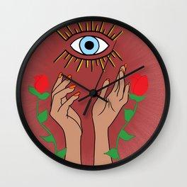 Mal De Ojo | EVIL EYE Wall Clock