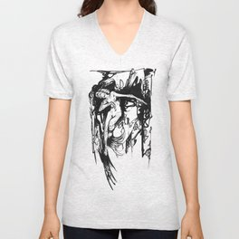 In a Sea Unisex V-Neck