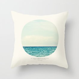 Salt Water Cure Throw Pillow
