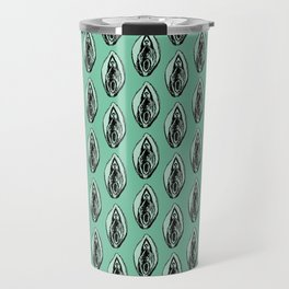 Vulves bleues - Blues vulvas Travel Mug