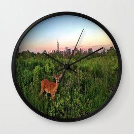 The NYC Deer Wall Clock
