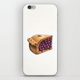 Blueberry Pie Slice iPhone Skin