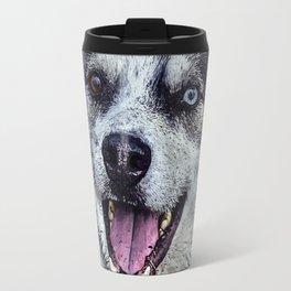 Beautiful husky Travel Mug