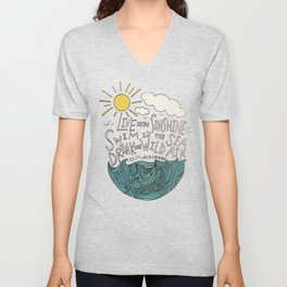Emerson: Live in the Sunshine Unisex V-Neck