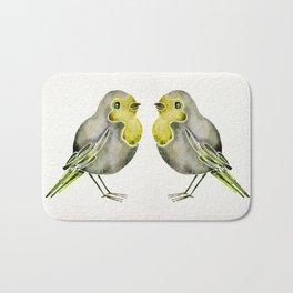 Little Yellow Birds Bath Mat