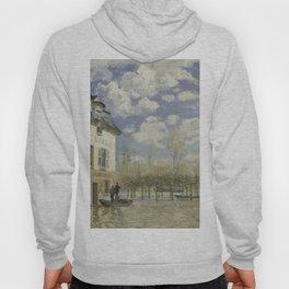 Alfred Sisley - Flood at Port-Marly, 1876 Hoody
