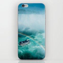 Niagara Falls Rainbow iPhone Skin