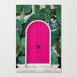 This Way to Happy Hour Canvas Print