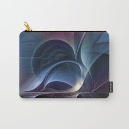 Fractal Mysterious, Colorful Abstract Art Carry-All Pouch