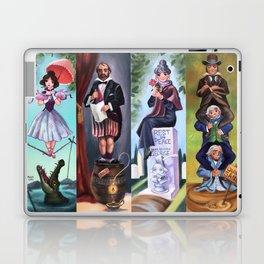 Disneyland Haunted Mansion Stretching Room Portraits Laptop & iPad Skin