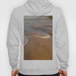Gentle Waves on Beach Hoody