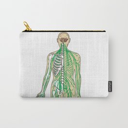 Human neural pathways Carry-All Pouch