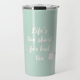 The Tea Lover II Travel Mug