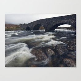 Sligachan Bridge Canvas Print
