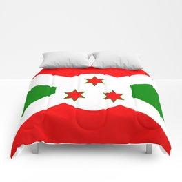 Flag of Burundi Comforters