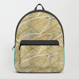 Tropical Gold Backpack
