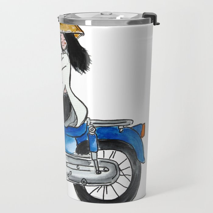 Vietnam on the road Travel Mug