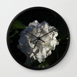 White wedding Wall Clock