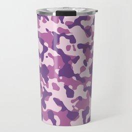Camouflage Trending Colors Purple Travel Mug