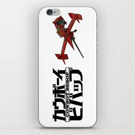 Cowboy Bebop - Ship & Logo iPhone Skin