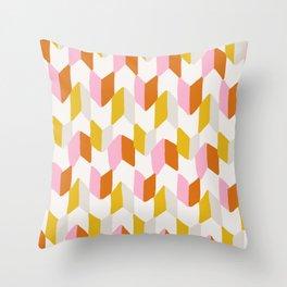 delilah, chevron pattern Throw Pillow