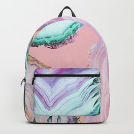 Mineral Agates & Garden #Glam collection Backpack