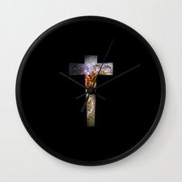 Cosmic Cross Wall Clock
