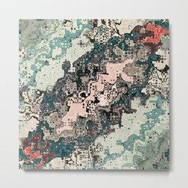 Colorful Textures Pattern 1 Metal Print