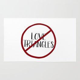 No More Love Triangles Rug