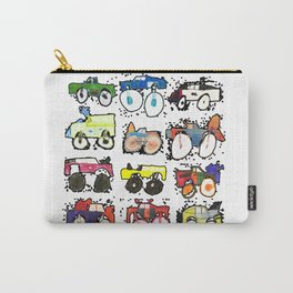 Monster Truck Kid Art by Tucker Carry-All Pouch