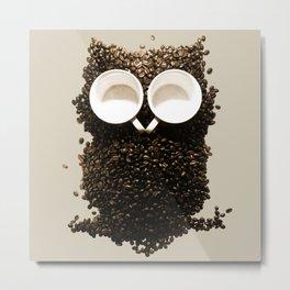 Hoot! Night Owl! Metal Print