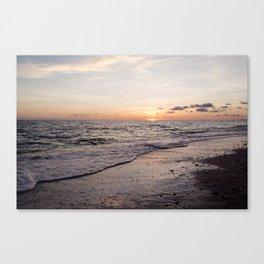 Last Moment of Summer Sun Canvas Print
