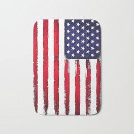 Vintage American flag Bath Mat