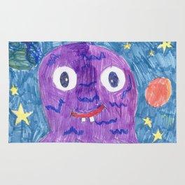 Purple Alien Rug