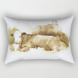 Ciao Vaca! Rectangular Pillow