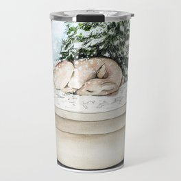Snow Globe Travel Mug
