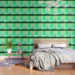 Green Abstract Passion Wallpaper