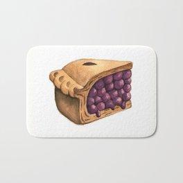 Blueberry Pie Slice Bath Mat