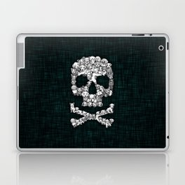 Skull Dogs Halloween Laptop & iPad Skin