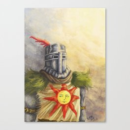 Knight Solaire Canvas Print