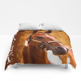 Painted Love Comforters